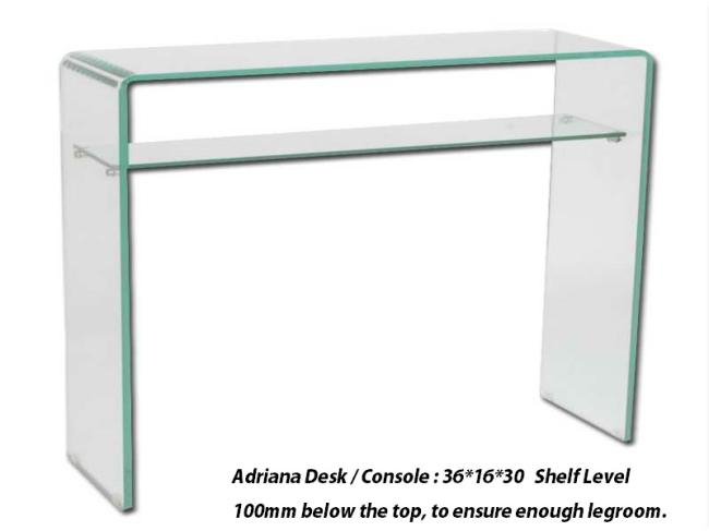 ADRIANA DESK/CONSOLE TABLE